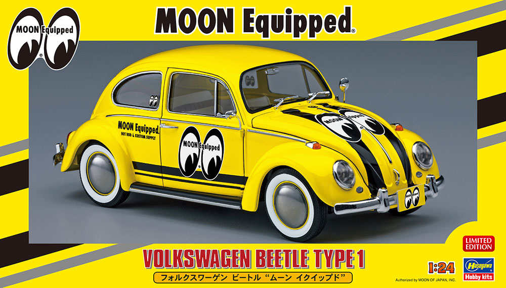 1/24 Volkswagen Beetle TYPE 1 MOON Equipped