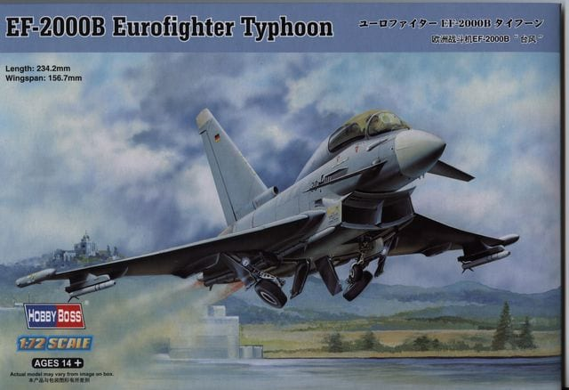 1/72 EF-2000B Eurofighter Typhoon Double Seat