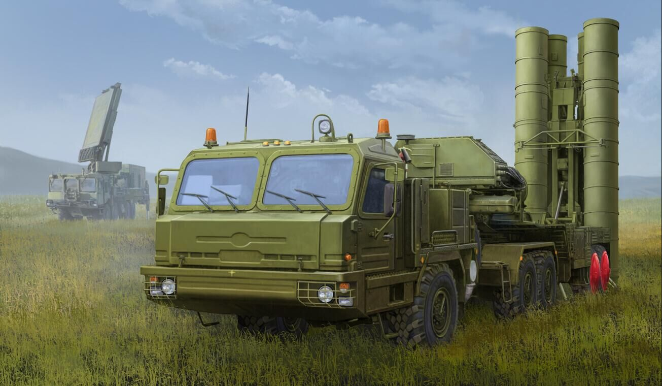 1/35 RussianBAZ-64022 with 5P85TE2 TEL S-400