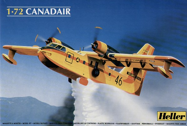 1/72 Canadair CL.215 water bomber flying boat