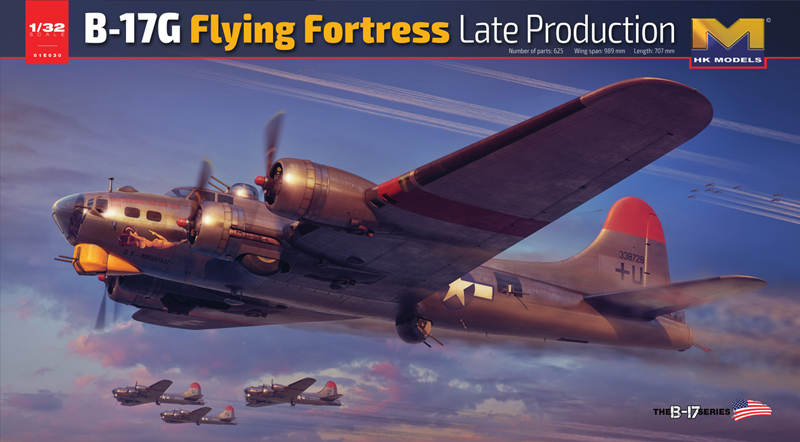1/32 Boeing B-17G Flying Fortress Late Production