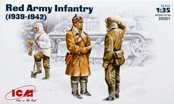 1/35 Red Army Infantry