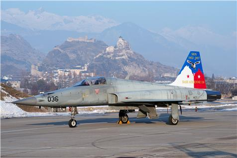 1/72 F-5E Swiss Air Force Base Aérienne 14 Sion