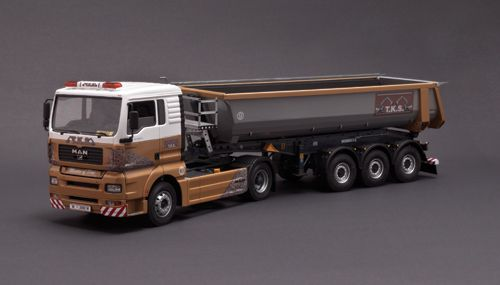 1/24 MAN TGA with dumper Trailer