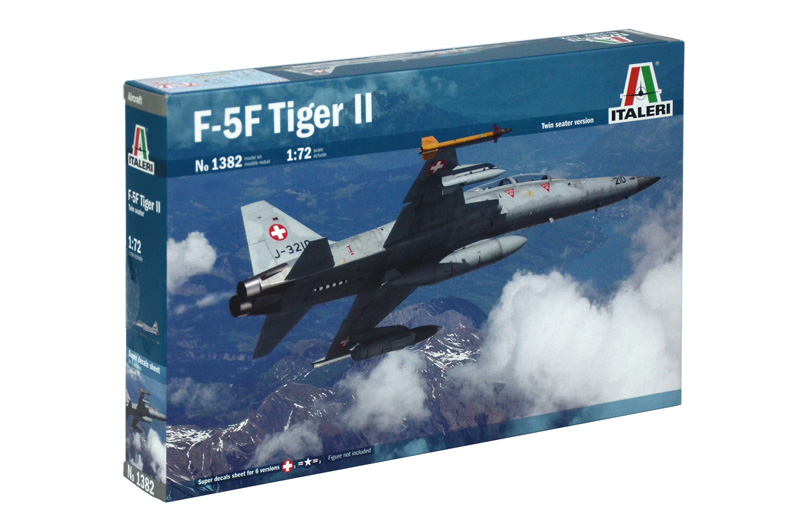 1/72 F-5F Swiss Air Force & US Aggressors