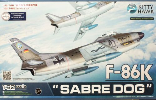 1/32 North-American F-86K Sabre