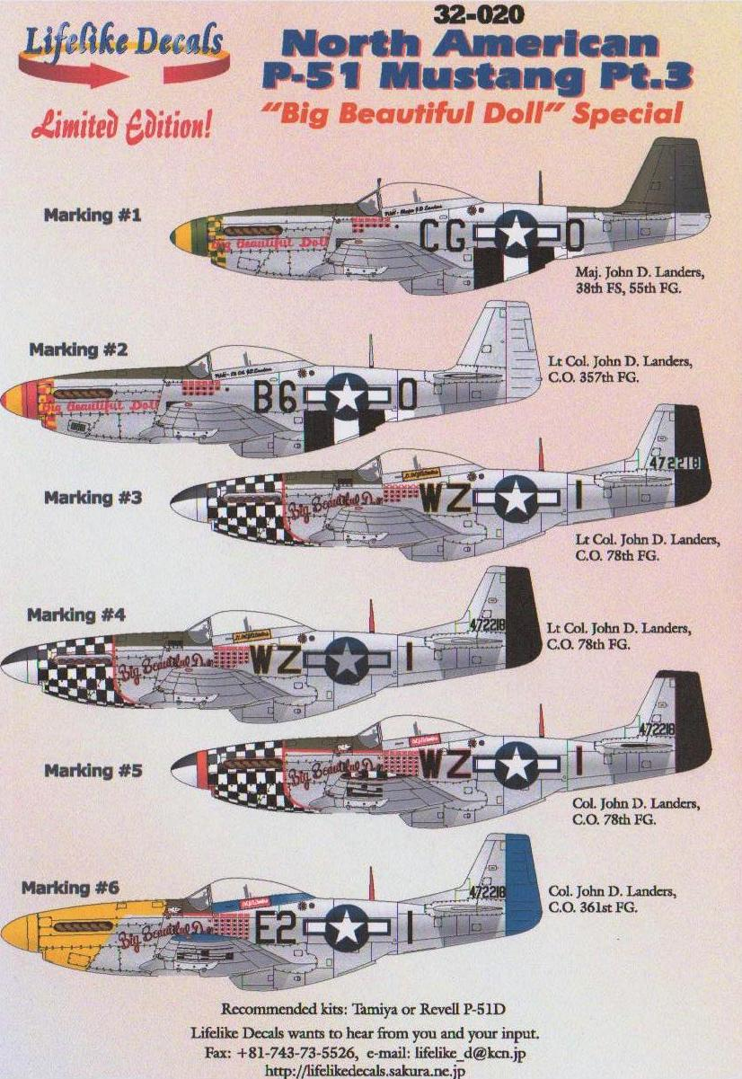 1/32 North-American P-51 Mustang Part 3 Big Beautiful Doll