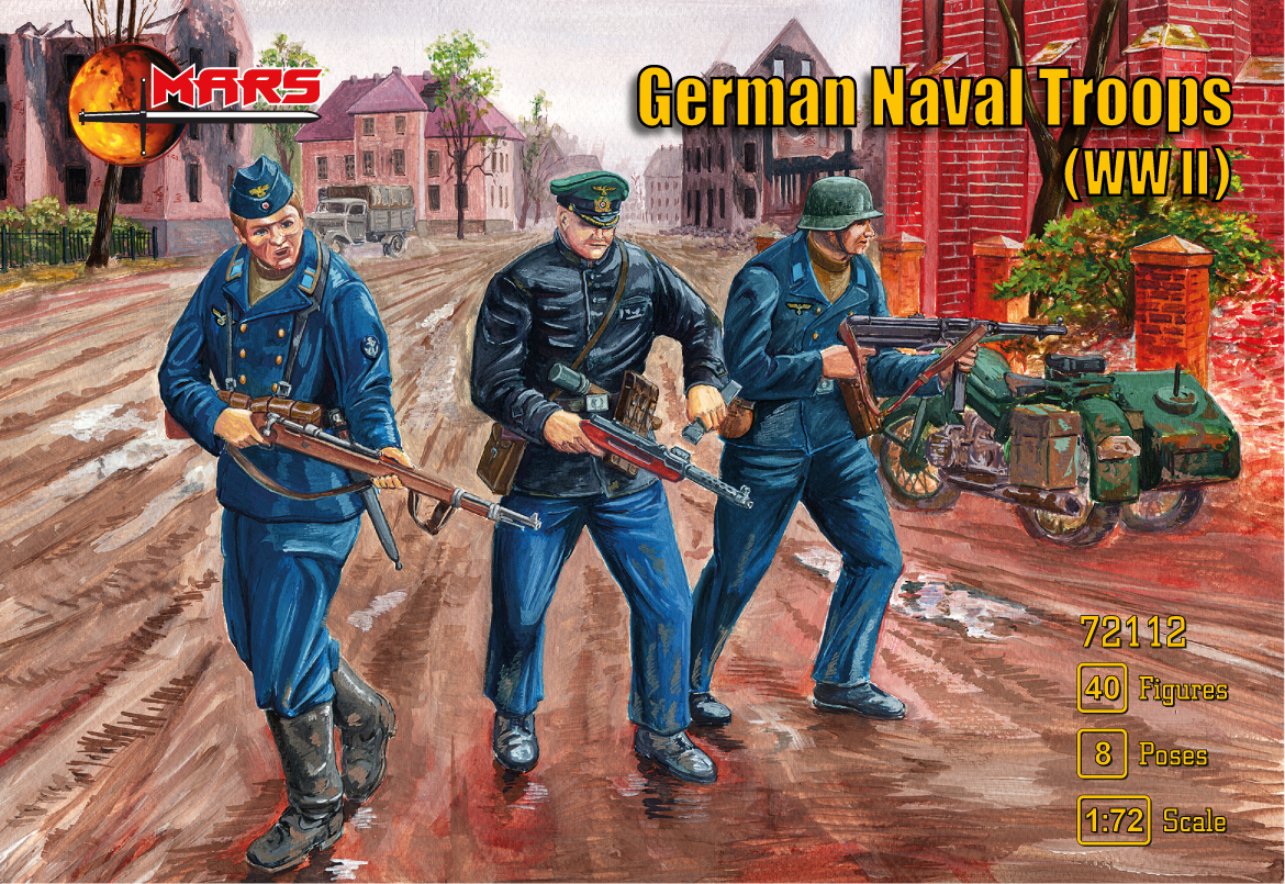 1/72 German Naval troops