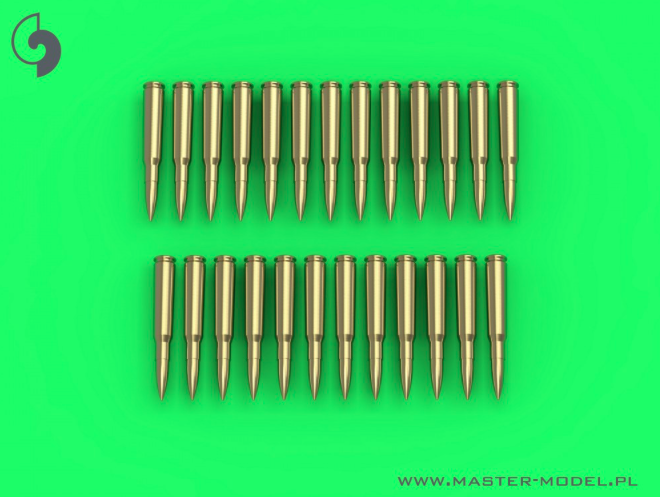 1/35 Browning .50 caliber cartridges