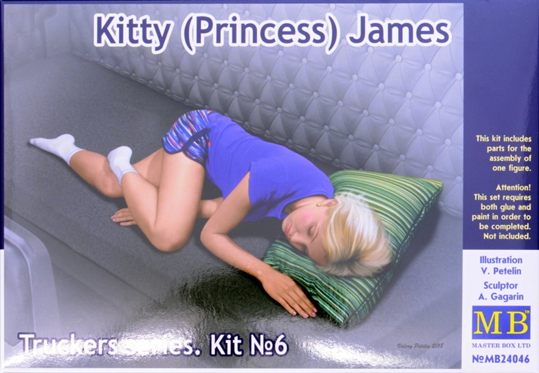 1/24 Truckers Series Kitty James