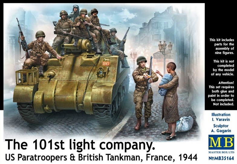 1/35 The 101st light company, France 1944