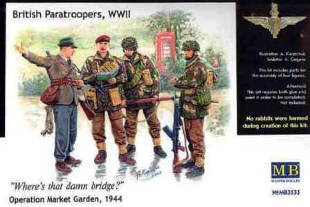 1/35 British Paratroopers WWII Wheres that damn bridge