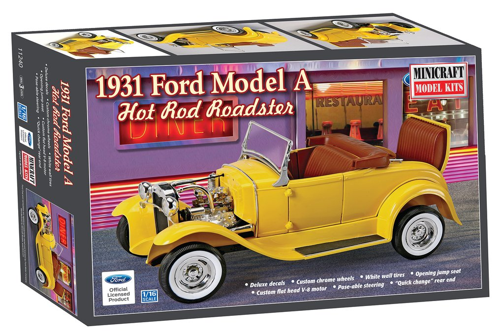 1/16 1931 Ford Roadster Hot Rod The Ford Model A of 1928