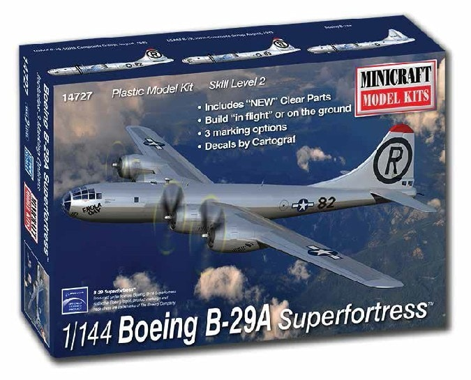1/144 Boeing B-29A Superfortress