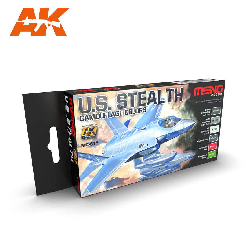 U.S. Stealth Camouflages Colors