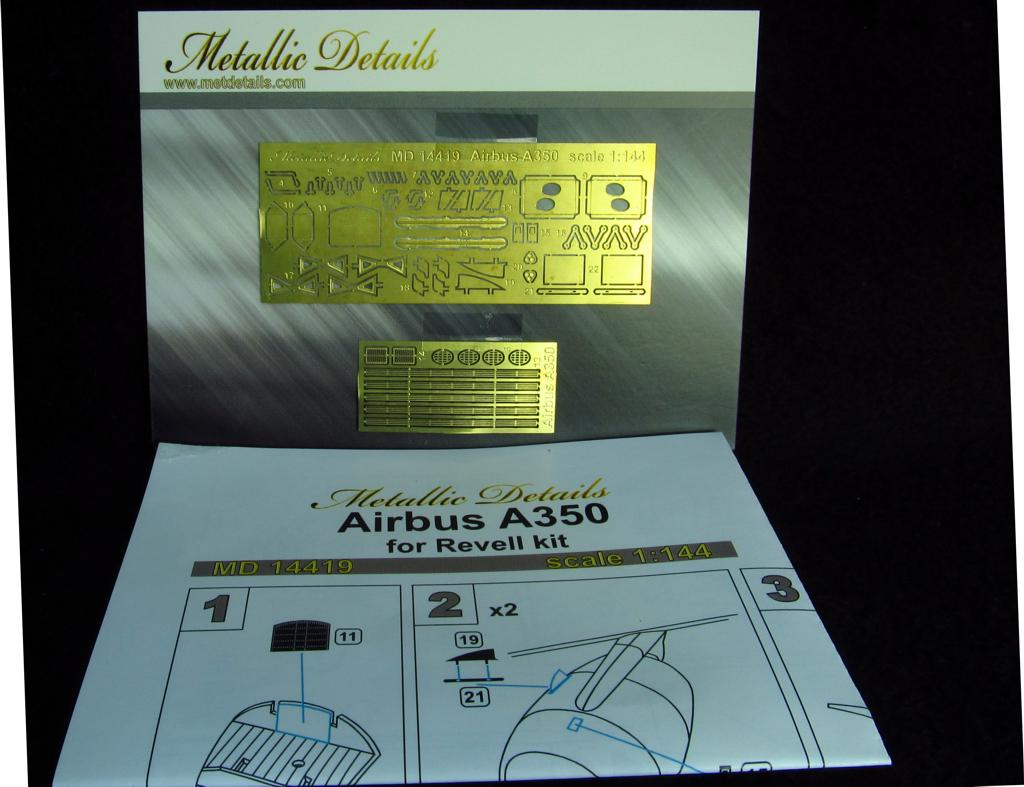 1/144 Airbus A350 Detailing set for aircraft model