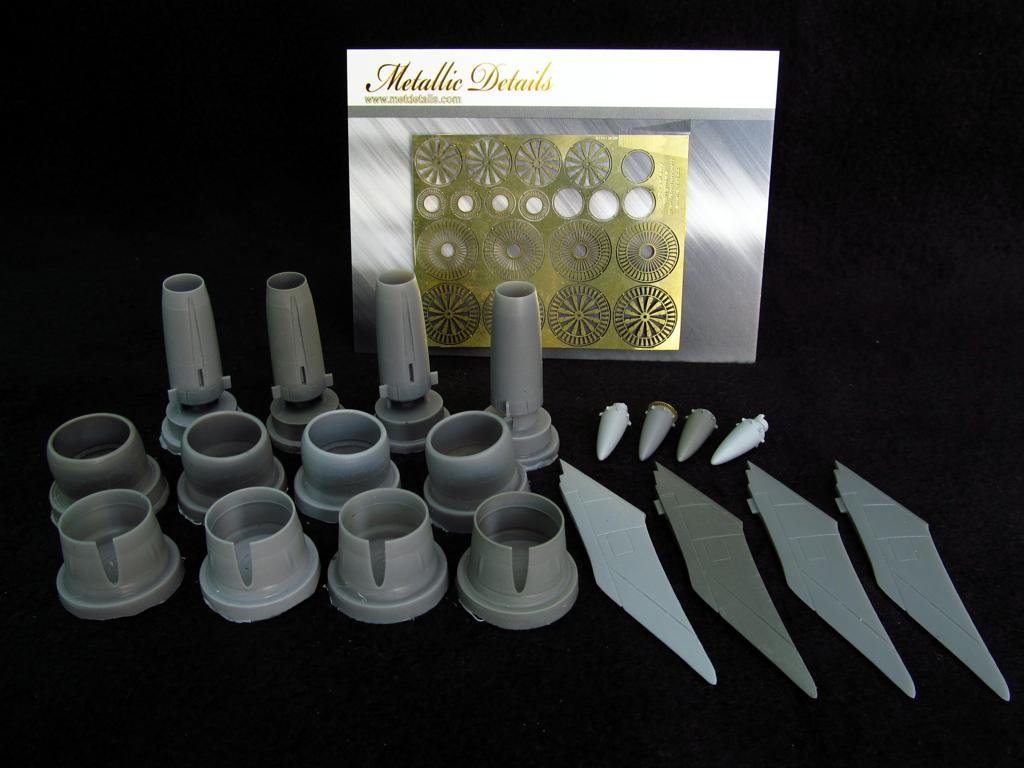 1/144 Lockheed C-5B Galaxy engines Set