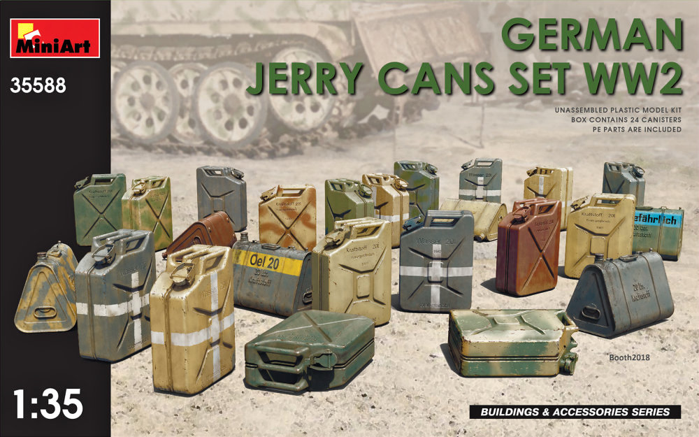 1/35 German Jerry Cans Set WWII