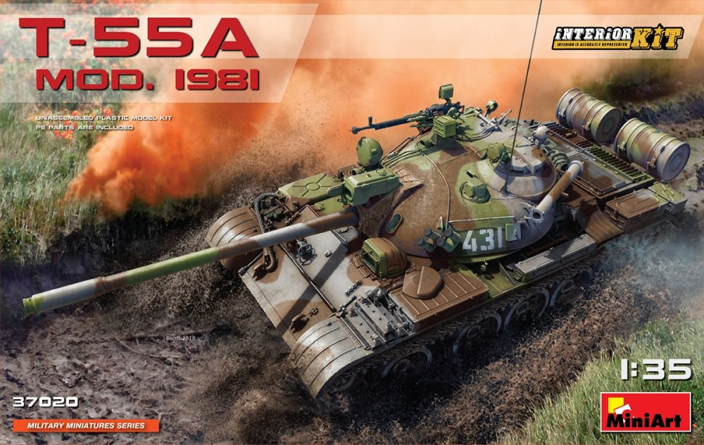 1/35 T-55A Mod.1981 with Interior Kit