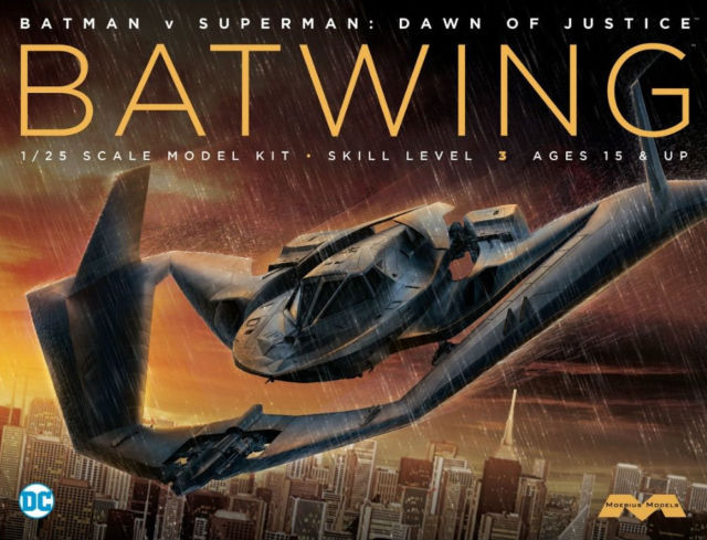 1/25 Batwing from Batman V Superman Dawn Of Justice