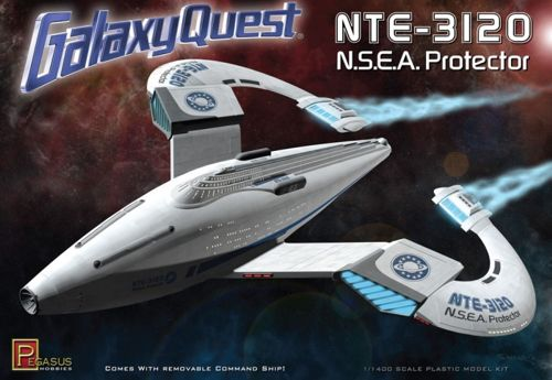 1/1400 NTE-3120 N.S.E.A Protector smash hit film Galaxy Quest