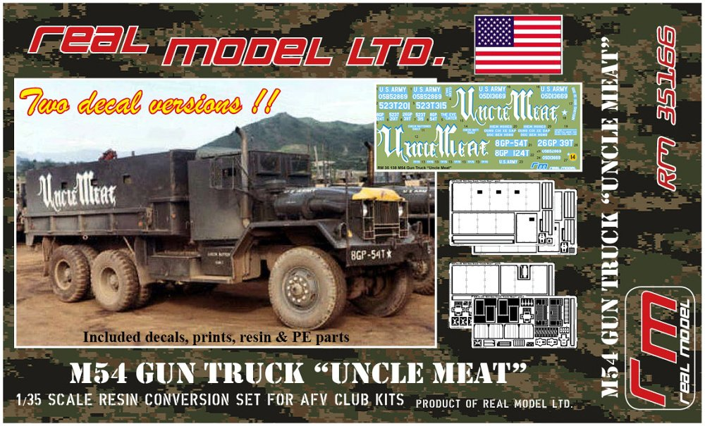 1/35 M54A2 Gun Truck Uncle Meat