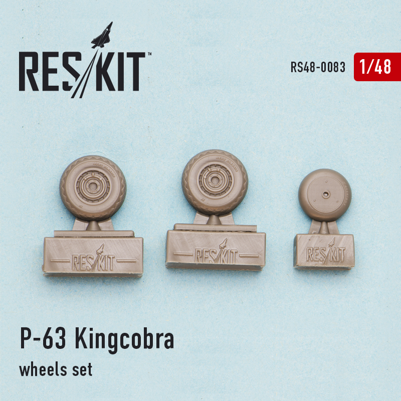 1/48 Bell P-63 Kingcobra wheels set