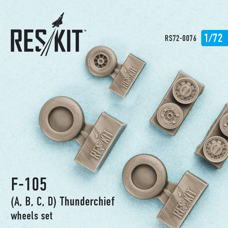 1/72 Republic F-105 Thunderchief wheels set