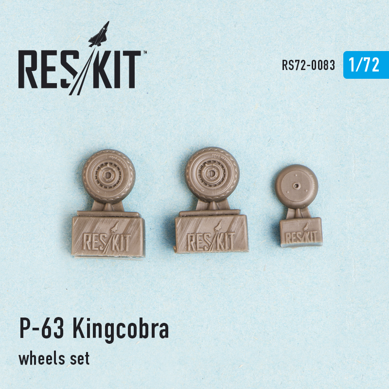 1/72 Bell P-39D/P-39N/TP-39Q/N Kingcobra wheels set