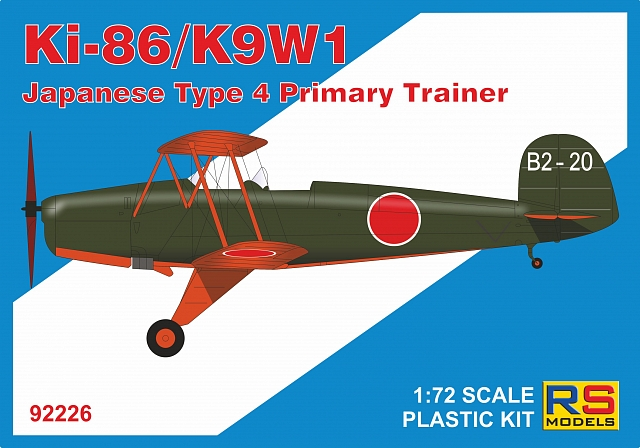1/72 Ki-86/K9W1 Japanese Type 4 Trainer