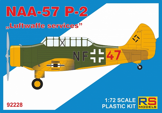 1/72 NAA-57 P-2 Luftwaffe services