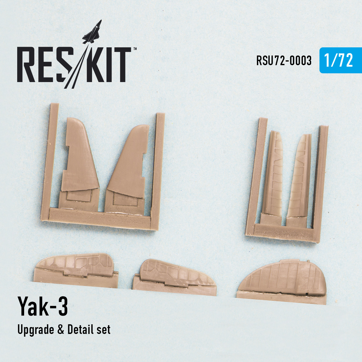 1/72 Yakovlev Yak-3 Upgrade & Detail set