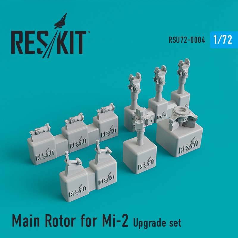 1/72 Main Rotor for Mil Mi-2 Upgrade set