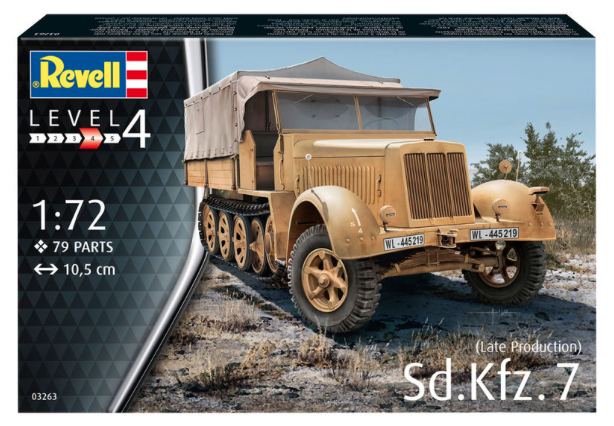 1/72 Sd.Kfz.7 late production