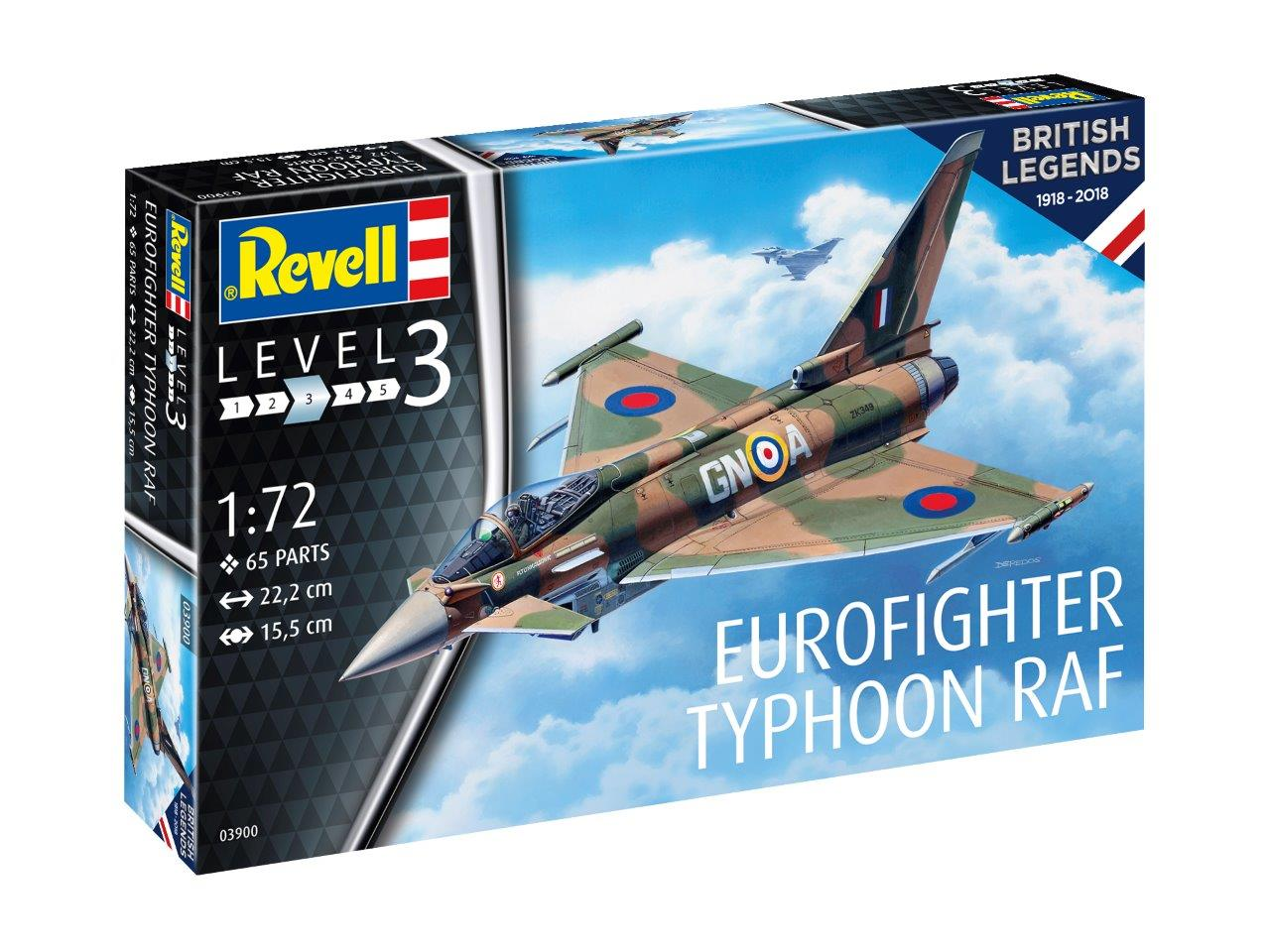 1/72 100 Years RAF Eurofighter Typhoon