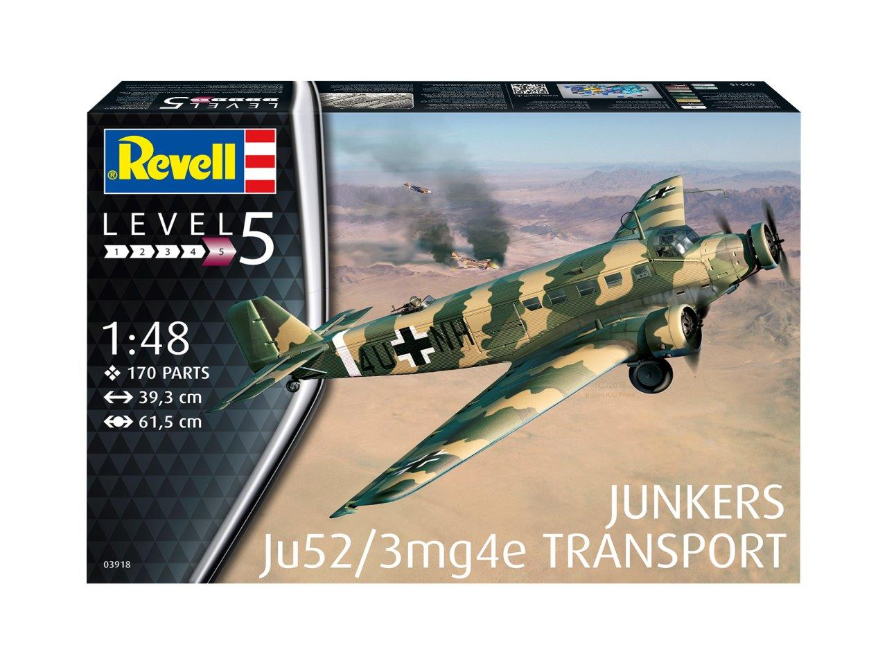 1/48 Junkers Ju-52/3M Transport
