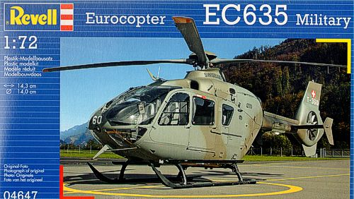 1/72 EC 635 Military (New Tooling)