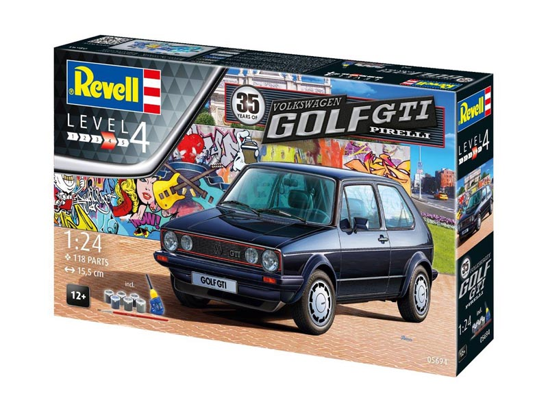 35 Years of the VW/Volkswagen Golf GTi Pirelli 1/24