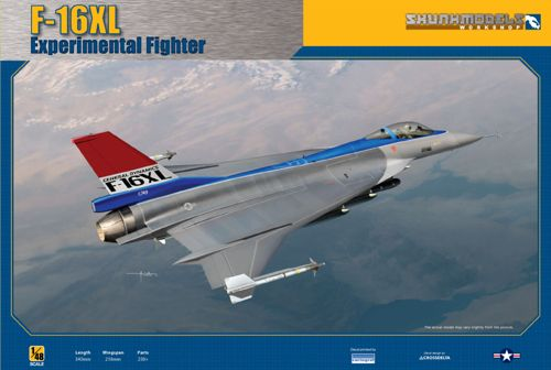 1/48 General-Dynamics F-16XL Experimental Fighter