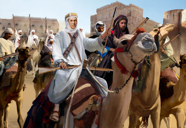 1/72 Arab Uprising Arab Camel Riders