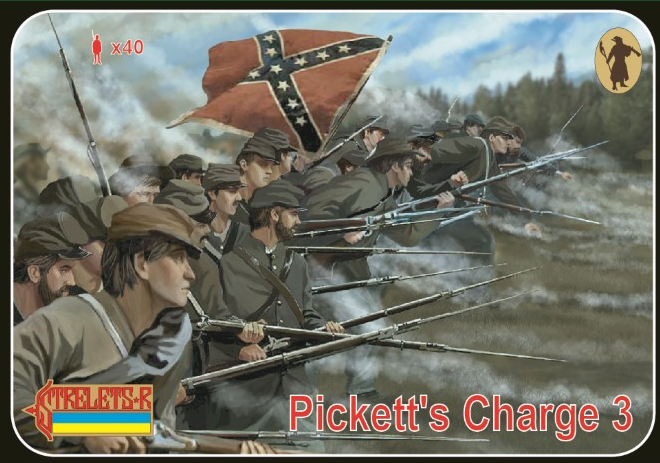 1/72 Picketts Charge 3 Gettisburg