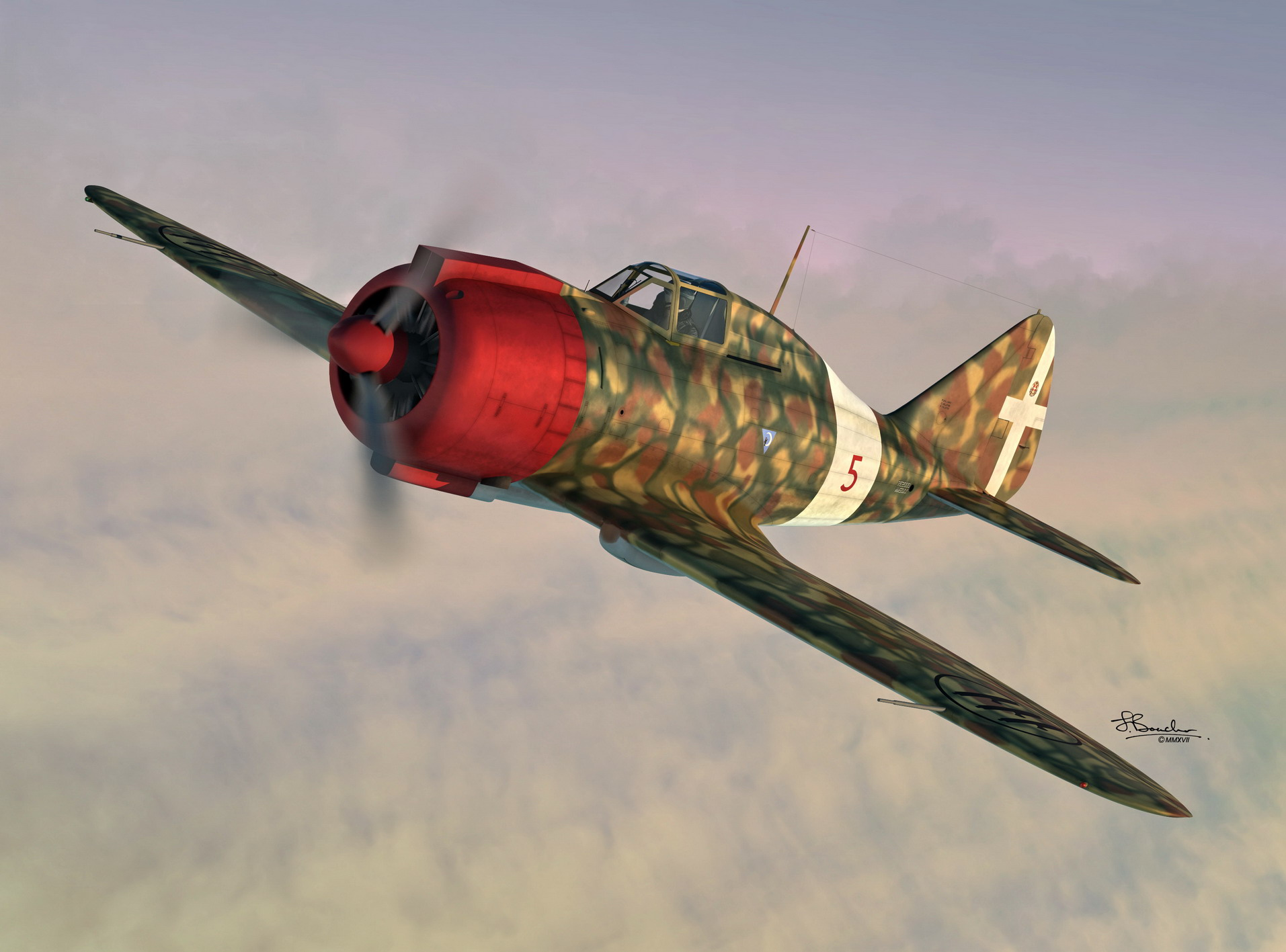1/72 Reggiane Re.2000GA Falco