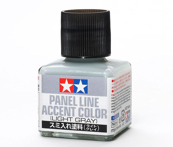 Panel Line Accent Color Light Gray
