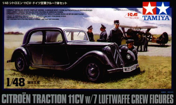 1/48 Citroen IICV with ICM Luftwaffe Crew (Ltd Edition)