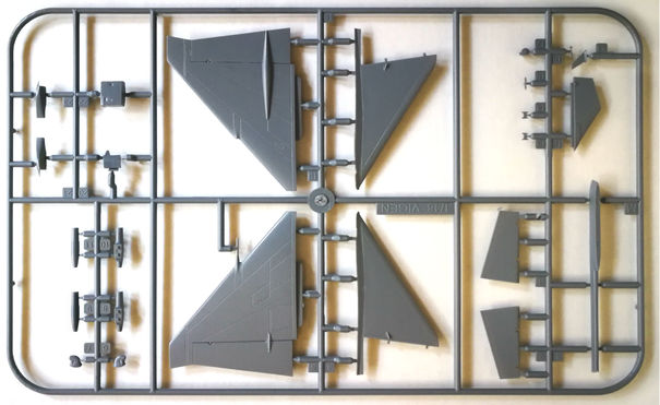 1/48 Saab Viggen upgraded sprue