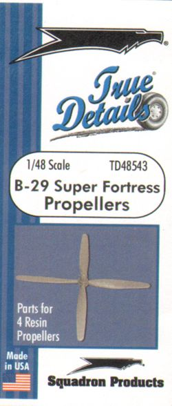 1/48 Boeing B-29 Super Fortress propellers
