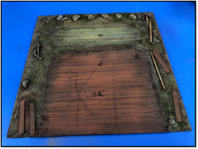 1/48 WWII Airfield section