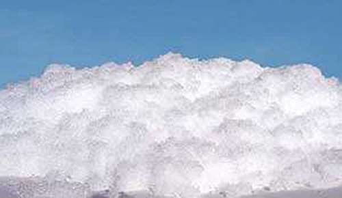 Fine crushed white silicate snow effect