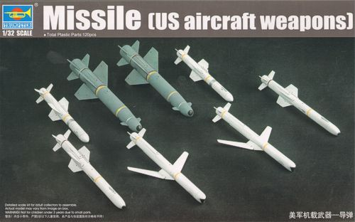 1/32 Aircraft Weapons: Missiles