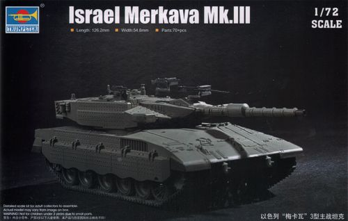 1/72 Israeli Defence Force/IDF Merkava MK.3 MBT